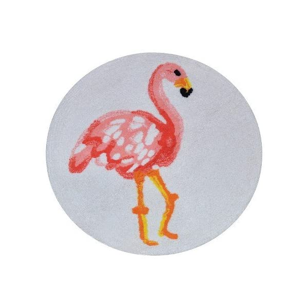 New-Flamingo-Bath-Rug-Multicolored
