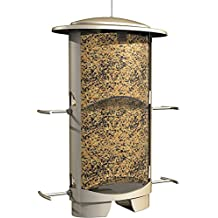Classic Brands More Birds X-1, Squirrel Proof Bird Feeder, 4 Feeding Ports, 4.2-Pound Capacity