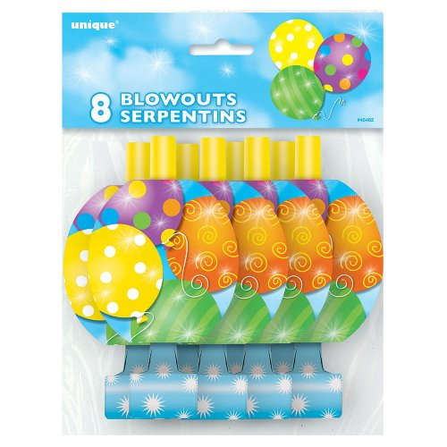 Twinkle Balloons Party Blowers 8ct