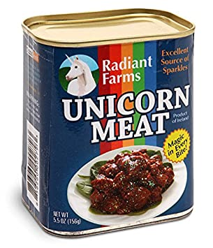 ThinkGeek Canned Unicorn Meat, 5.5 Ounce