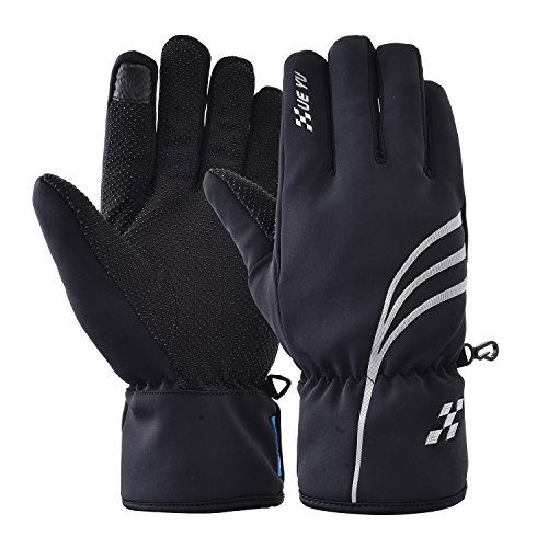 VRLEGEND Unisex Winter Gloves Outdoor Ski Gloves Warm Waterproof for Women Touchscreen