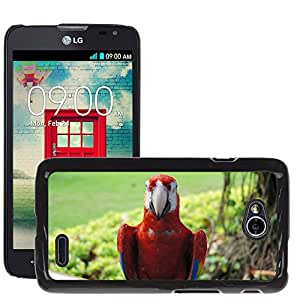 hello-mobile Etui Housse Coque de Protection Cover Rigide pour // M00136832 Pájaro del loro Ara Animal colorido // LG Optimus L70 MS323