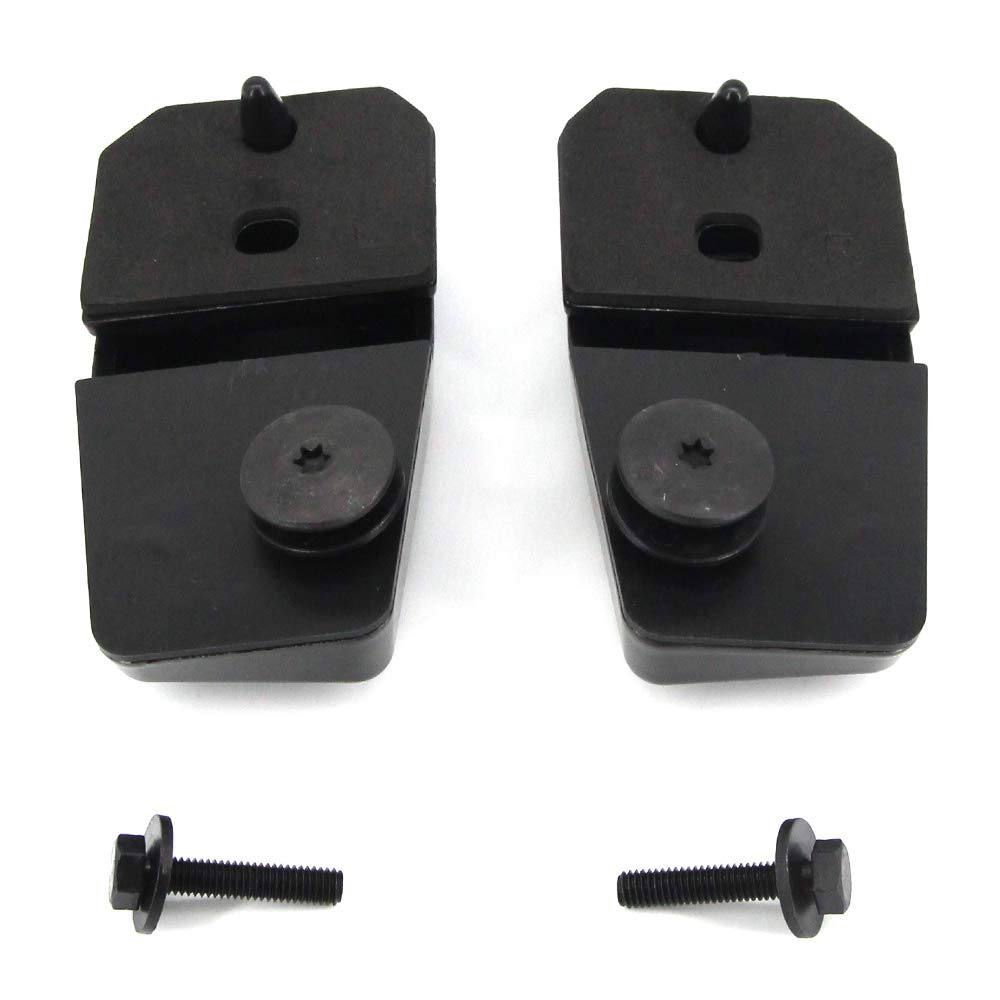 FEXON Rear Window Hinge Tailgate Liftgate Glass Hinge Kits for 2008 2009 2010 2011 2012 Jeep Liberty Replaces 57010061AB 57010060AB