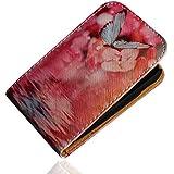 Handy Tasche Case Flip für Samsung Galaxy Fame GT-S6810 / GT-S6810P / Hülle Etui Handytasche Schutzhülle JS M10