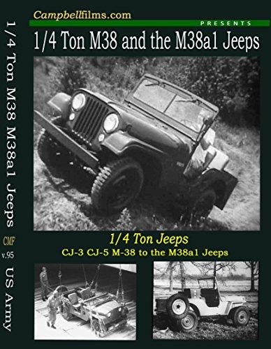 (M38 M38a1 CJ-3 CJ-5 Army Jeep Films Not MB GPW WW2 G503 Korean War Old FIlms DVD)