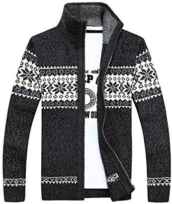 セーター メンズ フルジップ ニット メンズセーター ケーブル編み ビジネス ゆったり ざっくり あったかい 正規品 cmw24215
