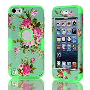 Touch 5 hard case,Touch 5 case,iPod Touch 5 Case,iPod Touch 5th generation Case,Flipcase Touch 5 cases,3in1 hard case for iPod Touch 5