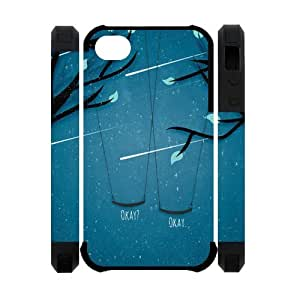 Custom The Fault in Our Stars Silicion Case for Iphone 4/4S Case ,Best Iphone Case