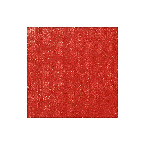 Bulk Buy: Darice DIY Crafts Core Couture Glitter Collection Sheet Red Carpet 12 x 12 (20-Pack) GX-CT210-12 ()