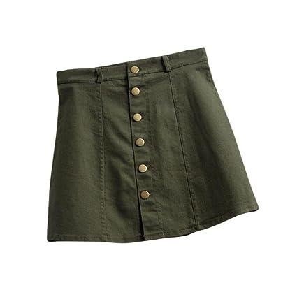 Faldas, Challeng Falda de la cintura de la moda de las mujeres falda de mezclilla