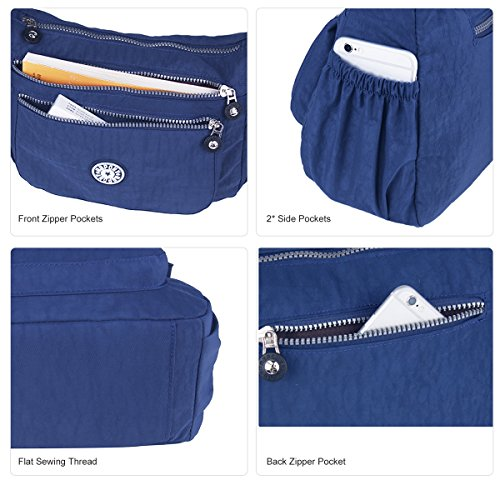 Women Crossbody blue Bags Messenger Splash ABLE Water 2 Anti Shoulder 7wdq7BxRT