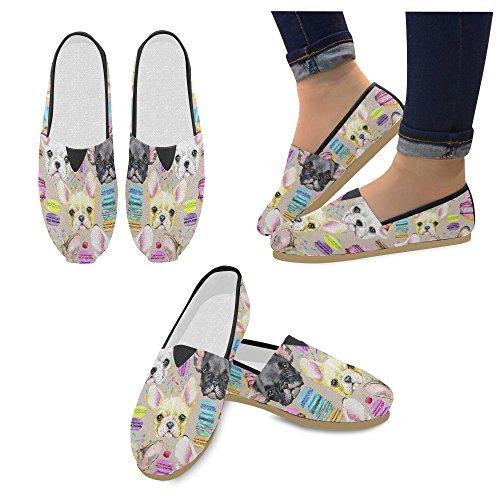 D-histoire Mode Chaussures De Tennis Appartements Femmes Classique Slip-on  Chaussures Chaussures Mocassins ...
