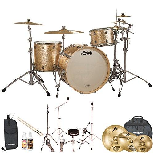 Ludwig USA Keystone(JF-LK7243KXSP-KIT-05) 3 Pc Drum Shell...