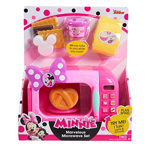 Just Play Minnie Bow-Tique Marvelous Microwave (Count On Me Costume)