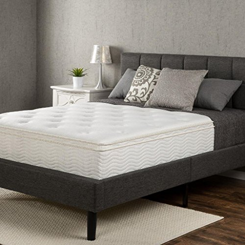 Zinus Euro Box Top Classic Spring 12 Inch Mattress, Full