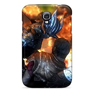 Luoxunmobile333 Fashion Protective Do You Fear Death Skyrim Elder Scrolls Cases Covers For Galaxy S4