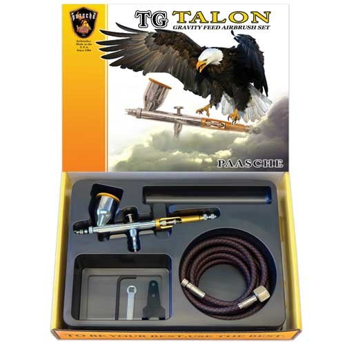 Paasche TG-SET Double Action Gravity Feed (Double Action Airbrush Set)
