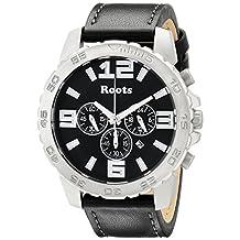 Roots Men's 1R-LF604BA2B Nominigan Analog Display Japanese Quartz Black Watch