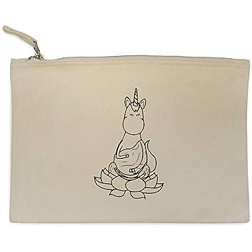Azeeda Yoga Unicornio Bolso de Embrague / Accesorios Case ...