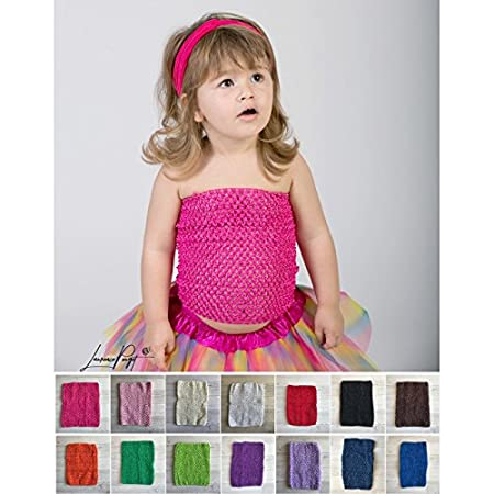 Top crochet moyen modèle 24 cm, 6 mois à 6 ans La panoplie Des Petits LAPTND-23565