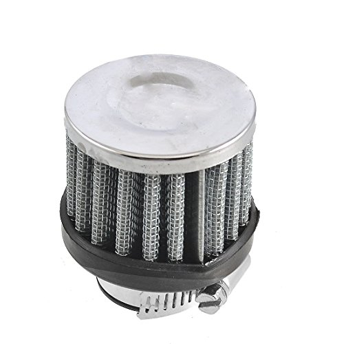 AUTUT Motorcycle Air Filter,18mm-25mm Hose Clamp Conical Mesh