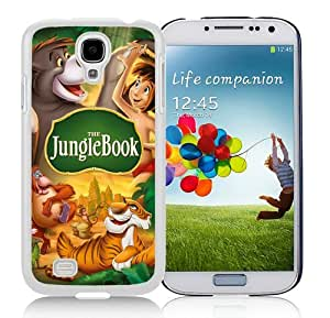 Samsung Galaxy S4 Cover Case,The Jungle Book White Cool Customized Samsung Galaxy S4 I9500 Case