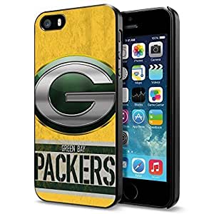NFL Green Bay Packers Logo, Cool iPhone 5 5s Smartphone Case Cover Collector iphone Black