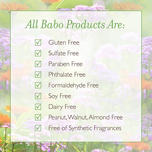 Babo Botanicals Lavender Meadowsweet Calming Baby Bubble Bath & Wash, 15 ounces by Babo Botanicals (Image #8)