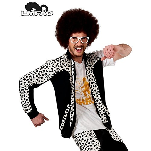 Redfoo Costume For Kids (Redfoo Wig Costume Accessory)