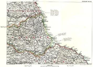 NE ENGLAND COAST Northumberland Durham Yorkshire Newcastleupon