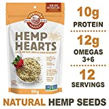 Manitoba Harvest Hemp Hearts Raw Shelled Hemp Seeds, 56g (Pack of 12); with 10g Protein & 12g Omegas per Serving, Non-GMO, Gluten Free