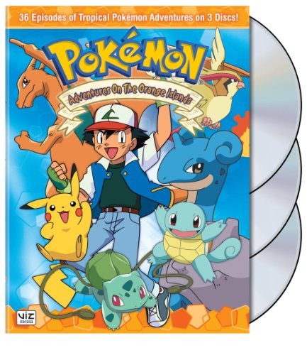 Pokemon - Adventures on the Orange Islands Box -
