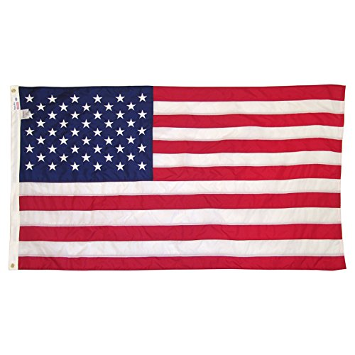 (3'x5' Outdoor Quality Poly Cotton U.S. Flag)