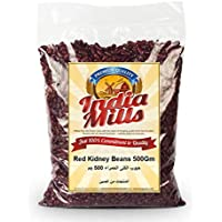 INDIA MILLS Red Kidney Beans, 500 gm