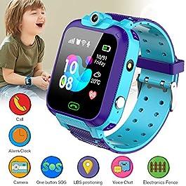 KToyoung Kids Smart Watch,Childrens Smartwatch for Kids Girls,Waterproof LBS Tracker Watch HD Touch Screen Sport…