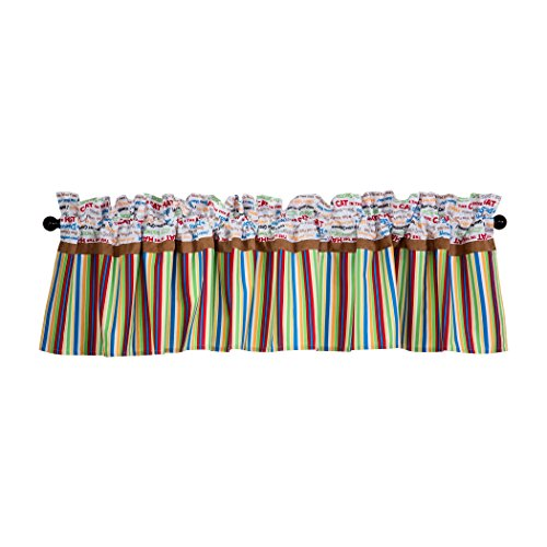 Abc Baby Valance - Trend Lab Dr. Seuss Alphabet Seuss Window Valance