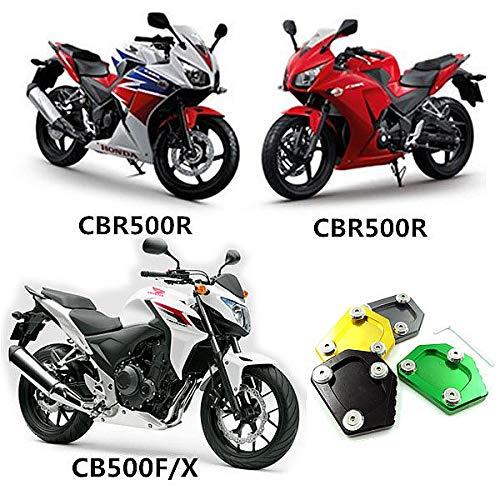Alician Seitenst/änder-Erweiterung f/ür Honda NC700S//X//D Integra CBR500R CB500F//X Schwarz