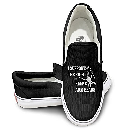 [ALIPAPA Custom Men's & Women's Cool I Support The Right To Keep Pump Black Size 40] (Avatar Makeup)