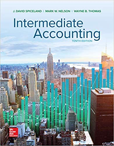 Intermediate Accounting by Spiceland/Nelson/Thomas