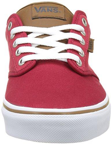 Rojo para Hombre Pepper Chili Vans amp;l Zapatillas Atwood MN Check C PzqPItX