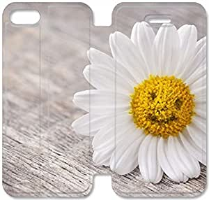 Elegant Printing Daisy Flower-7 iPhone 6/6S Plus 5.5 Inch Leather Flip Case