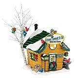 Department 56 Original Snow Village How Tweet It Is! Wild Bird Sto Lit House, 5.31-Inch