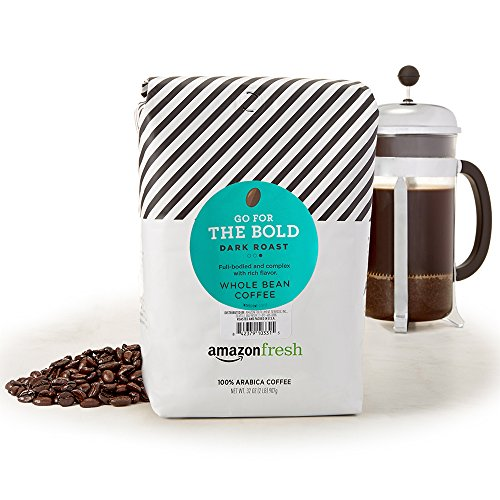 AmazonFresh Roast Whole Coffee Ounce product image