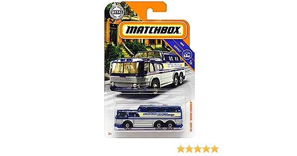 2019 MATCHBOX MBX SERVICE /'55 GMC SCENIC CRUISER 90//100