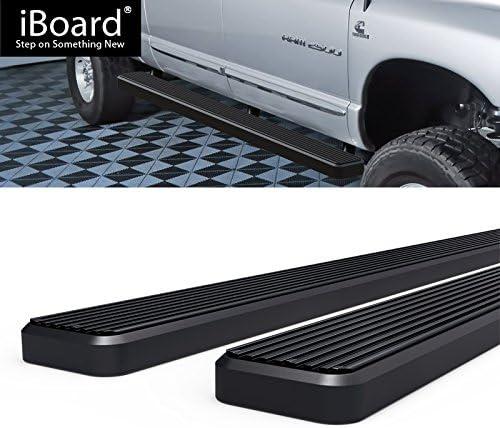 """4/"""" Black eBoard Running Boards Fit Dodge Ram 1500//2500//3500 Mega Cab 06-08"""