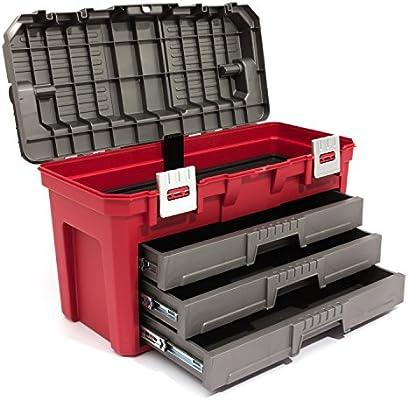 De alta calidad KETER 3 cajones Caja de en el pecho: Amazon.es: Bricolaje y herramientas