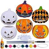 6 Sets DIY Ceramic Pumpkins Jack-o'-Lanterns