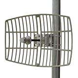 Altelix 5 GHz - 5.8 GHz High Gain 24 dBi WiFi Parabolic Grid Antenna N Female