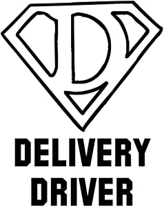 PressFans - DELIVERY Driver Career Occupation Decal Sticker