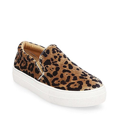Leopard Platforms - Steve Madden Women's Gills-L Sneaker, Leopard, 9 M US